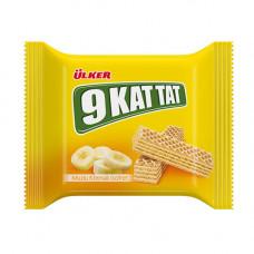 9 KAT TAT Вафли с банановым кремом 39 гр ULKER