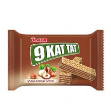 9 KAT TAT Вафли с фундучным кремом 39 гр ULKER