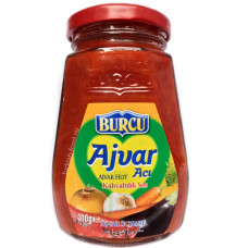 """Соус для завтрака """"Ажвар"""", острый 310 гр BURCU"""
