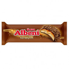 ALBENI KURABIYEM 170 гр ULKER - Печенье с карамелью покрытой шоколадом