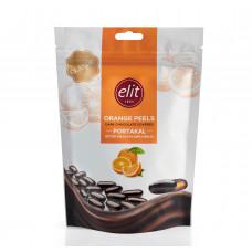 Апельсиновые цукаты в темном шоколаде ELIT 125 гр