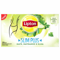 FORM Чай SLIM PLUS микс трав с мята-петрушкой и с яблоком 20 пакетиков LIPTON