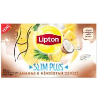FORM Чай SLIM PLUS микс трав с кокосом и ананасом 20 пакетиков LIPTON