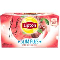 FORM Чай SLIM PLUS микс трав с плодоножками черешни 20 пакетиков LIPTON