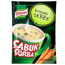 Чашка крем суп овощной KNORR 18 г