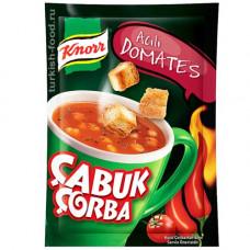 Чашка суп томатный острый KNORR 22 г