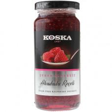 Малиновое варенье без добавления сахара 290 гр KOSKA