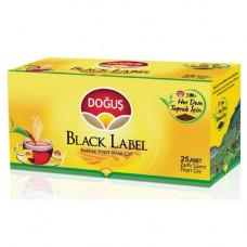 Чай пакетированный DOGUS BLACK LABEL 50 гр (черный чай - 25 пакетиков)