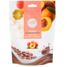 Драже персик в молочном шоколаде ELIT 125 гр