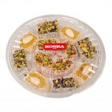 Дворцовый рахат лукум с миксом из орехов покрытый кокосом 300 гр KOSKA