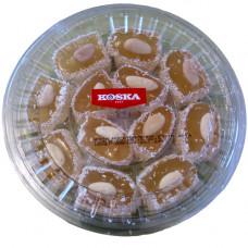 Дворцовый рахат лукум с миндалем покрытый кокосом 300 гр KOSKA