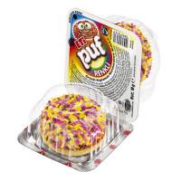 ETI PUF 18 гр бисквит с маршмелоу с покрытием светлыми гранулами