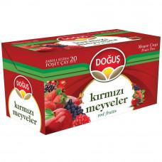 Чай из красных фруктов 20 пакетиков DOGUS