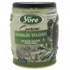 Вяленые маслины натуральные 750гр калибровка JUMBO (261- 290 шт/кг) железная банка YORE
