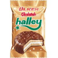 Halley Сэндвич-печенье (Бакус) покрытое молочным шоколадом с маршмэллоу 30 гр ULKER