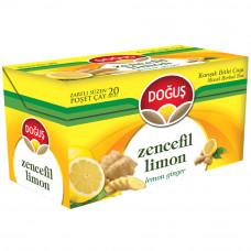 Имбирный чай с лимоном 20 пакетиков DOGUS