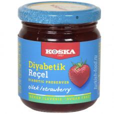 Клубничное варенье для диабетиков KOSKA 240 гр