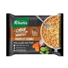 Лапша быстрого приготовления говядина 66 гр KNORR