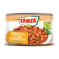 Консервированное лобио TAMEK 190 гр из красной фасоли