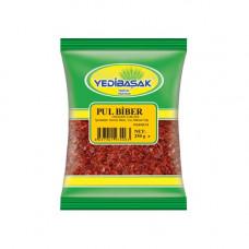 Пул бибер YEDIBASAK 250 г, красный перец крупно-молотый масляный, острый