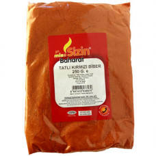 Красный перец неострый мелкого-помола Tatli Kirmizi Biber Miss Sizin 250 гр