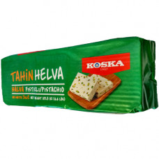 Кунжутная халва с фисташками KOSKA 3 кг для большой семьи и для ХоРеКа Бизнеса (Хотел-Ресторан-Кафе)