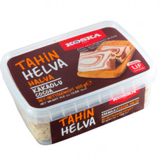 Кунжутная халва с какао KOSKA 400 гр в пластиковой таре