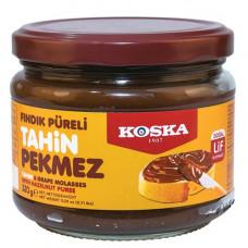 Кунжутная паста и виноградный пекмез с пюре из фундука 320 гр KOSKA