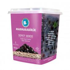 """Вяленые маслины калибровка S 800 гр, (ферментированные в рассоле """"саламура""""), масляные, серия корзины (SEPET SERISI), MARMARABIRLIK"""