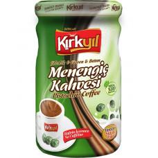 Мененгич кофе жидкий 600 гр, из фисташек терпентинного дерева KIRKYIL без кофеина в стекле.