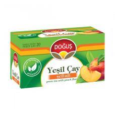 Зелёный чай Персик 20 пакетиков DOGUS