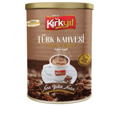 Турецкий кофе KIRKYIL 250гр в железной банке