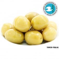 Оливки ломкие (KIRMA) в вакуумной упаковке, 500 гр чистый вес, калибровка 3XL, расфасовка, MARMARABIRLIK