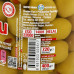 Оливки с красным перцем AGAOGLU 720 гр калибровка 141-160