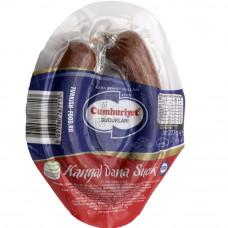 Колбаса (суджук) естественно ферментированная CUMHURIYET 220 гр