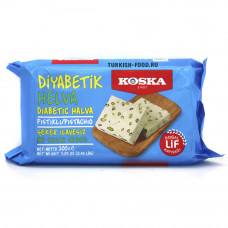 Кунжутная халва для диабетиков с фисташками KOSKA 200 гр