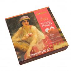Рахат-лукум с ароматом розы KOSKA 350 гр подарочная упаковка