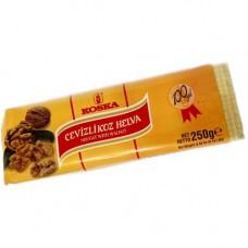 Кунжутная халва Нуга с грецким орехом KOSKA 250 гр