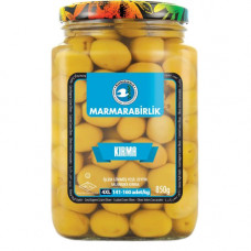 Оливки ломкие MARMARABIRLIK 850 гр калибровка 4XL