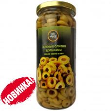Оливки нарезанные кольцами 470 гр DELI VEGGY