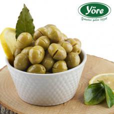 Оливки ломанные в камни 500 гр расфасовка, калибровка 291-320, (GEMLIK KOY KIRMA) YORE