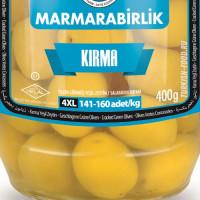 Оливки ломкие MARMARABIRLIK 400 гр калибровка 4XL