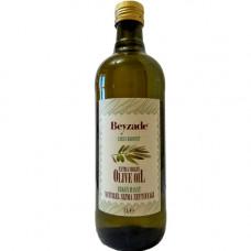 Оливковое масло холодный отжим первого уражая 1 л BEYZADE тёмная стеклянная бутылка