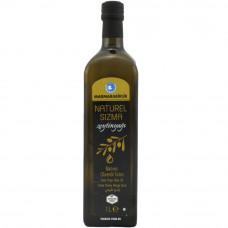 Оливковое масло MARMARABIRLIK 1 л в темной стеклянной бутылке