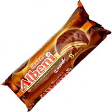 Печенье Albeni раунд с карамелью, покрытый молочным шоколадом 320 гр