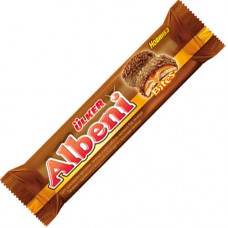 Печенье с карамелью в молочном шоколаде и с крошками печенья 72 гр Albeni Bites