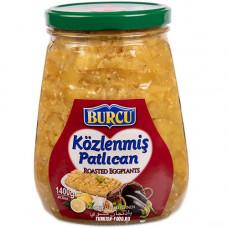 Печеные баклажаны на гриле 1400 гр BURCU в экстра толсто-стенной стеклянной банке