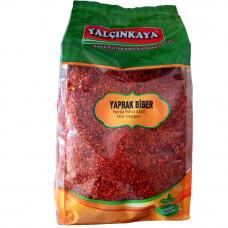 Пул бибер YALCINKAYA 1 кг, красный перец крупно-молотый масляный, острый