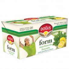 FORM Чай микс с листьями петрушки и лимоном 20 пакетиков DOGUS