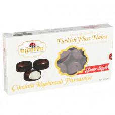 Пишмание покрытое черным шоколадом UGURLU 200 гр